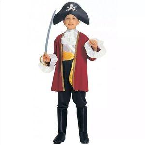 🆕 CAPTAIN HOOK Child Boy Costume 2T 3T 4T Pirate